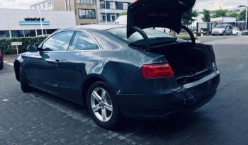 Audi A5 accidenté a l'arriere !! full